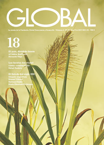 Portada de la revista Global No. 18