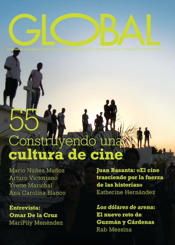 Portada de la revista Global No. 55